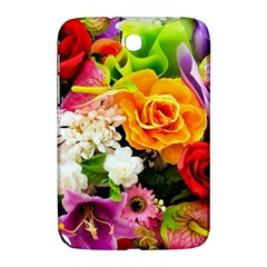 Colorful Flowers Samsung Galaxy Note 8 0 N5100 Hardshell Case