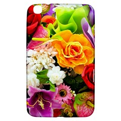 Colorful Flowers Samsung Galaxy Tab 3 (8 ) T3100 Hardshell Case