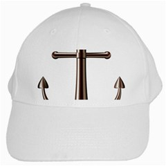 Anchor White Cap