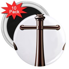 Anchor 3  Magnets (10 Pack)