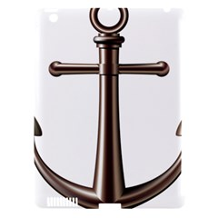 Anchor Apple Ipad 3/4 Hardshell Case (compatible With Smart Cover)