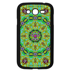 Golden Star Mandala In Fantasy Cartoon Style Samsung Galaxy Grand Duos I9082 Case (black)