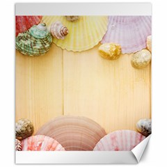 Sea Shell Pattern Canvas 20  X 24