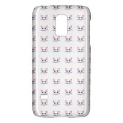 Pink Cute Cat Pattern Galaxy S5 Mini