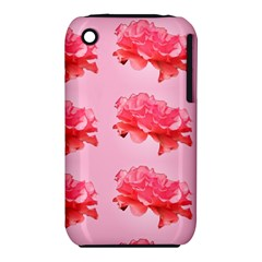 Pink Floral Pattern Iphone 3s/3gs