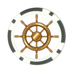 Boat Wheel Transparent Clip Art Poker Chip Card Guard
