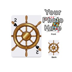 Boat Wheel Transparent Clip Art Playing Cards 54 (mini)