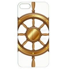 Boat Wheel Transparent Clip Art Apple Iphone 5 Hardshell Case With Stand
