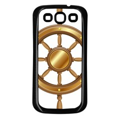 Boat Wheel Transparent Clip Art Samsung Galaxy S3 Back Case (black)