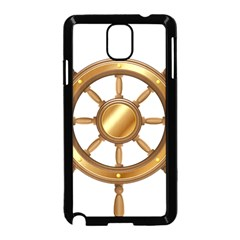 Boat Wheel Transparent Clip Art Samsung Galaxy Note 3 Neo Hardshell Case (black)