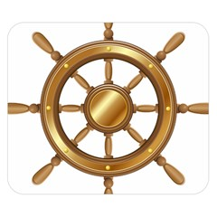 Boat Wheel Transparent Clip Art Double Sided Flano Blanket (small)