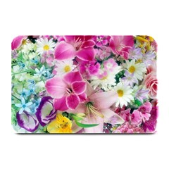Colorful Flowers Patterns Plate Mats
