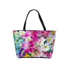 Colorful Flowers Patterns Shoulder Handbags