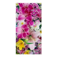 Colorful Flowers Patterns Shower Curtain 36  X 72  (stall)
