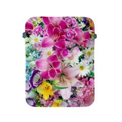 Colorful Flowers Patterns Apple Ipad 2/3/4 Protective Soft Cases