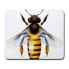 Bee Large Mousepads