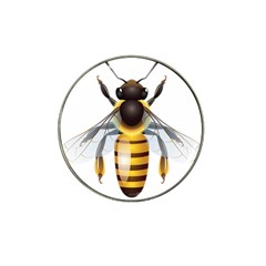 Bee Hat Clip Ball Marker (4 Pack)
