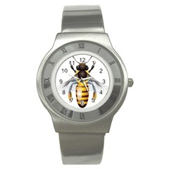 Bee Stainless Steel Watch