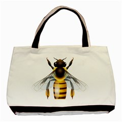 Bee Basic Tote Bag (two Sides)