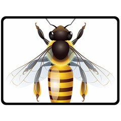 Bee Fleece Blanket (large)