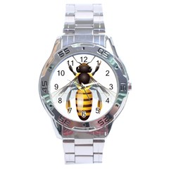 Bee Stainless Steel Analogue Watch