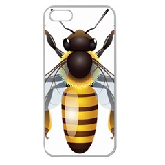 Bee Apple Seamless Iphone 5 Case (clear)
