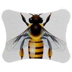 Bee Jigsaw Puzzle Photo Stand (bow)