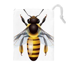 Bee Drawstring Pouches (extra Large)