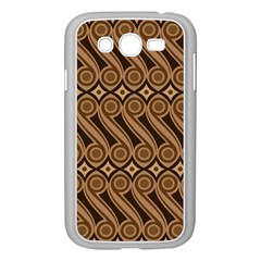 Batik The Traditional Fabric Samsung Galaxy Grand Duos I9082 Case (white)