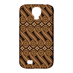 Batik The Traditional Fabric Samsung Galaxy S4 Classic Hardshell Case (pc+silicone)