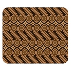 Batik The Traditional Fabric Double Sided Flano Blanket (small)