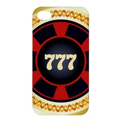Casino Chip Clip Art Apple Iphone 4/4s Premium Hardshell Case