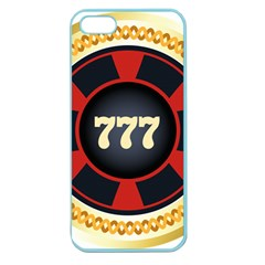 Casino Chip Clip Art Apple Seamless Iphone 5 Case (color)