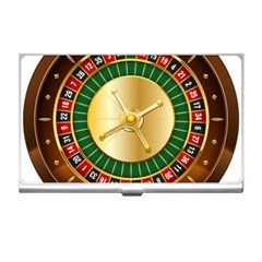 Casino Roulette Clipart Business Card Holders