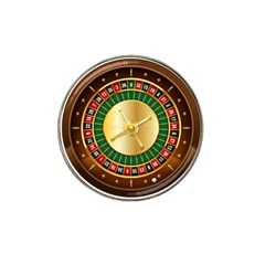 Casino Roulette Clipart Hat Clip Ball Marker (4 Pack)
