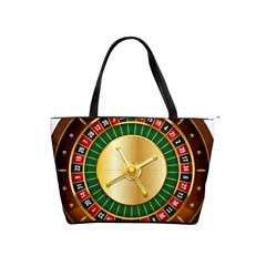 Casino Roulette Clipart Shoulder Handbags
