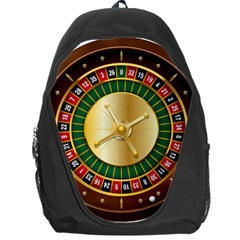 Casino Roulette Clipart Backpack Bag