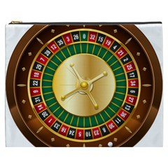 Casino Roulette Clipart Cosmetic Bag (xxxl)
