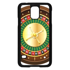 Casino Roulette Clipart Samsung Galaxy S5 Case (black)