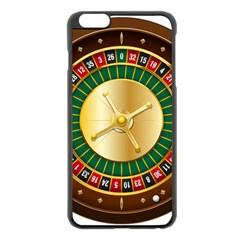 Casino Roulette Clipart Apple Iphone 6 Plus/6s Plus Black Enamel Case