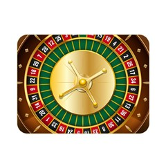 Casino Roulette Clipart Double Sided Flano Blanket (mini)