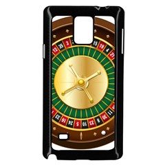 Casino Roulette Clipart Samsung Galaxy Note 4 Case (black)