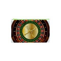 Casino Roulette Clipart Cosmetic Bag (xs)