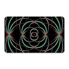 Abstract Spider Web Magnet (rectangular)