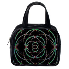 Abstract Spider Web Classic Handbags (one Side)