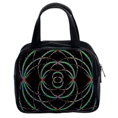 Abstract Spider Web Classic Handbags (2 Sides)