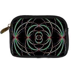 Abstract Spider Web Digital Camera Cases