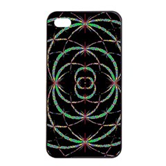 Abstract Spider Web Apple Iphone 4/4s Seamless Case (black)