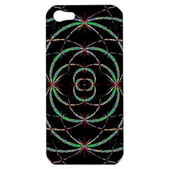 Abstract Spider Web Apple Iphone 5 Hardshell Case