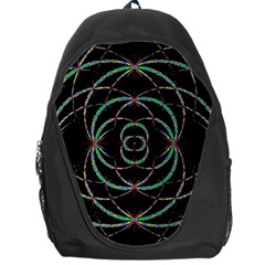 Abstract Spider Web Backpack Bag